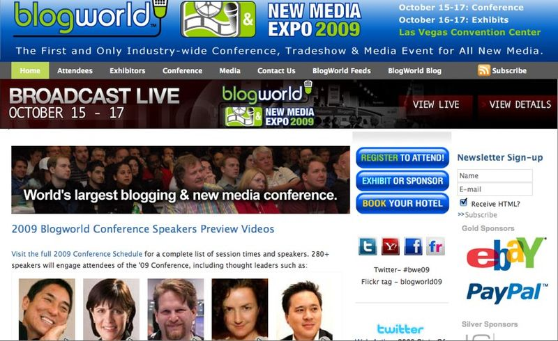Blog World Expo | The Original Blogger Conference