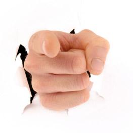 Stock-pointingfinger