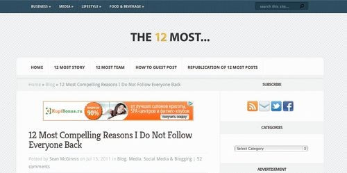 12 Most Compelling Reasons I Do Not Follow Everyone Back |