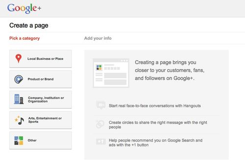 (20) Create a Google+ Page