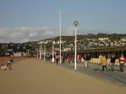 Boardwalk in Deauville