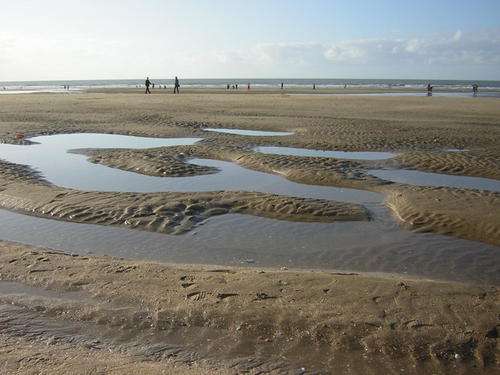 Beach in Deauville